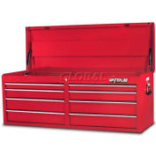 Waterloo PCH-528RD 8-Drawer Chest - Red