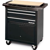 Waterloo SP-PC3BK 3-Drawer Project Center - Black
