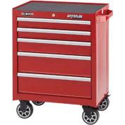 Waterloo WCA-265RD 5-Drawer Cabinet - Red