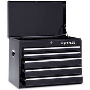 Waterloo WCH-265BK 5-Drawer Chest - Black