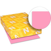 "Neenah Paper Astrobrights Colored Card Stock 21041, 8-1/2"" x 11"", Pulsar Pink™, 250/Pack"