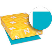 """Neenah Paper Astrobrights Colored Card Stock 21855, 8-1/2"""" x 11"""", Terrestrial Teal™, 250/Pack"""