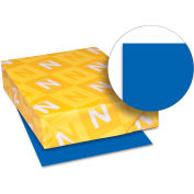 """Neenah Paper Astrobrights Colored Card Stock 21911, 8-1/2"""" x 11"""", Blast-Off Blue™, 250/Pack"""