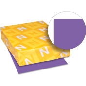 "Neenah Paper Astrobrights Colored Card Stock 21971, 8-1/2"" x 11"", Gravity Grape™, 250/Pack"