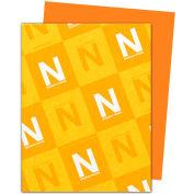 "Neenah Paper Astrobrights Colored Card Stock 22761, 8-1/2"" x 11"", Orbit Orange™, 250/Pack"