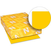 """Neenah Paper Astrobrights Colored Card Stock 22771, 8-1/2"""" x 11"""", Galaxy Gold™, 250/Pack"""