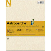 "Neenah Paper Astroparche Specialty Card Stock 26428, 8-1/2"" x 11"", Natural, 250/Pack"