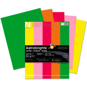 """Neenah Paper Astrobrights Colored Paper, 8-1/2"""" x 11"""", 24 lb, Vintage Colors, 500 Sheets/Ream"""