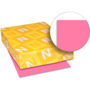 """Neenah Paper Astrobrights Card Stock Paper, 8-1/2"""" x 11"""", Plasma Pink, 250 Sheets/Pack"""