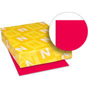 """Neenah Paper Astrobrights Colored Paper, 8-1/2"""" x 11"""", 24 lb, Re-Entry Red, 500 Sheets/Ream"""