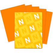 "Neenah Paper Astrobrights Colored Paper, 8-1/2"" x 11"", 24 lb, Orange, 500 Sheets/Ream"