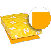 """Neenah Paper Astrobrights Colored Paper, 8-1/2"""" x 11"""", 24 lb, Cosmic Orange, 500 Sheets/Ream"""