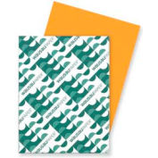 """Neenah Paper Astrobrights Card Stock Paper, 8-1/2"""" x 11"""", Cosmic Orange, 250 Sheets/Pack"""
