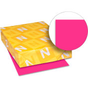 "Neenah Paper Astrobrights Card Stock Paper, 8-1/2"" x 11"", Fireball Fuschia, 250 Sheets/Pack"