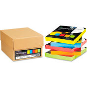 "Neenah Paper Astrobrights Colored Paper, 8-1/2"" x 11"", 24 lb, Assorted, 1250 Sheets/Carton"