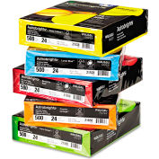 """Neenah Paper Astrobrights Colored Paper, 8-1/2"""" x 11"""", 24 lb, Assorted, 2500 Sheets/Carton"""