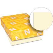 "Neenah Paper Exact Vellum Bristol Paper, 8-1/2"" x 11"", 67 lb, Vellum, Ivory, 250 Sheets/Pack"