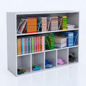 Whitney Brothers Cubby and Shelf Storage Cabinet - White