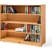 """Whitney Brothers 42"""" Tall Mobile Adjustable Shelf Cabinet"""