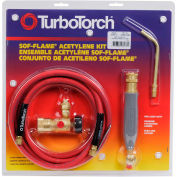 TurboTorch® SOF-FLAME™ Torch Kit, WSF-3, S-4 Soldering Tip, 12' Hose, Air Acetylene