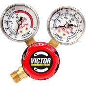 "Victor® Regulator Single Stage-Acetylene G150-15-200R 021 ""A"", Brass, CGA-200, 400 PSI"