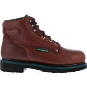 "Florsheim® FE665 Men's Plain Toe 6"" Classic Boot, Black Walnut, Size 16 C (Narrow)"
