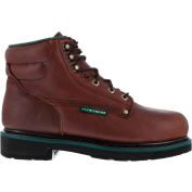 "Florsheim® FE665 Men's Plain Toe 6"" Classic Boot, Black Walnut, Size 16 EEE (X-Wide)"