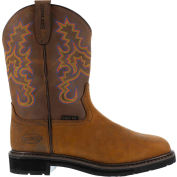 Iron Age® IA5850 Men's Ruffian Brown Wellington Boots, Brown, Size 8 M