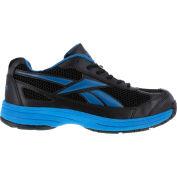 Reebok® RB1620 Men's Athletic Cross Trainer Shoes, Black w/ Blue Trim, Size 8 W