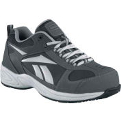 Reebok® RB1880 Men's Street Sport Jogger Oxford, Gray w/ Silver Trim, Size 5.5 M