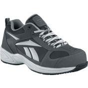 Reebok® RB1880 Men's Street Sport Jogger Oxford, Gray w/ Silver Trim, Size 7 W