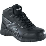Reebok® RB4275 Men's Classic Performance Hi Top Boots, Black, Size 11.5 EEE (X-Wide)