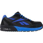 Reebok® RB4721 Men's Retro Jogger Oxford, Dark Gray w/ Blue, Size 8 W