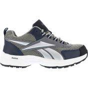 Reebok® RB485 Women's Athletic Cross Trainer Shoes, Gray & Navy, Size 7 W