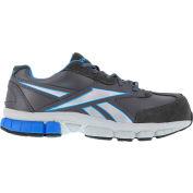 Reebok® RB4891 Men's Performance Cross Trainer Shoes, Dark Gray w/Blue Trim, Size 7.5 W