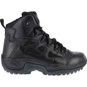 "Reebok® RB8678 Men's Stealth 6"" Boot With Side Zipper, Black, Size 11.5 W"