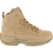 "Reebok® RB8695 Men's Stealth 6"" Boot With Side Zipper, Desert Tan, Size 12 M"