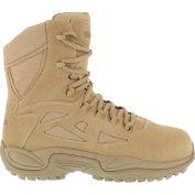 "Reebok® RB8893 Men's Stealth 8"" Boot, Desert Tan, Size 5 M"