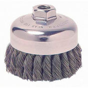 General-Duty Knot Wire Cup Brushes, WEILER 13025