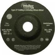 Vortec Pro™ Type 27 Pipeline - Cutting & Light Grinding Wheels, WEILER 56428