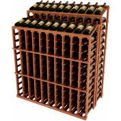 Vintner Commercial DD Merchandiser W/Individual Bottle Rails - All-Heart Redwood, Mahogany