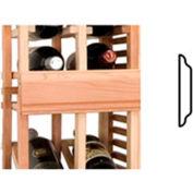Vintner Series Finish Option, Center Seam Strip, Curved - Black, Pine