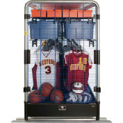 "GearBoss® Uniform & Gear X-Cart™ Locker, 144""W x 78""D x 79""H, 3 Units"
