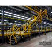 Wildeck® Stair Landing Platform, Expanded Metal