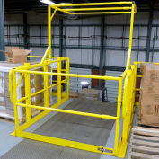 "Wildeck® Pivot Safety Gate, Field Adjustable From 25"" to 109"" Interior Width"