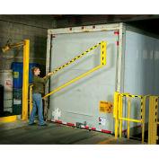 Wildeck® EdgeGard™ 10' Straight-Rail Dock Gate, WG-ESR-10