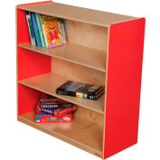 "Wood Designs™ Strawberry Red Bookshelf, 36""H"