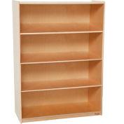 "Wood Designs™ X-Deep Bookshelf - 48""H x 18""D"