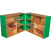 "Green Apple Folding Versatile Storage Unit, 36""H"