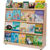 """Wood Designs™ Double Sided Book Display 48""""H"""